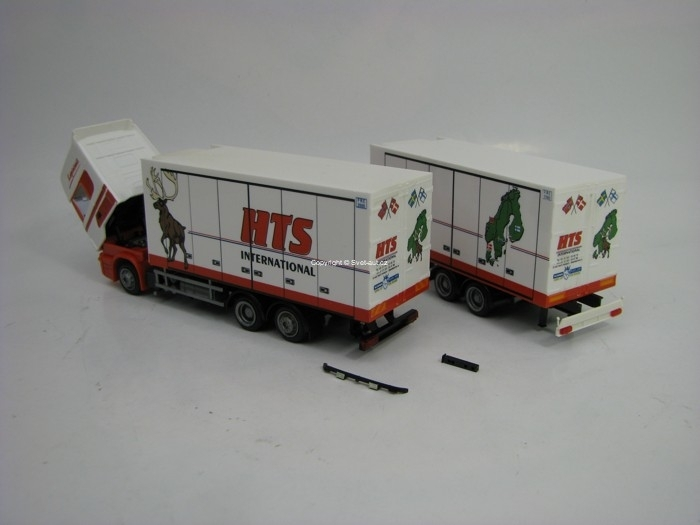 Scania s přívěsem HTS International 1:87 AWM