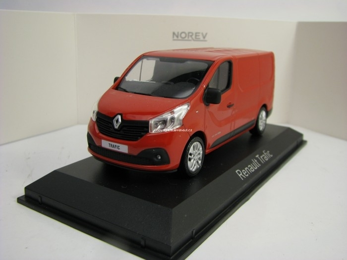 Renault Trafic 2014 Red 1:43 Norev