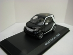 Smart Fortwo Coupe Prime Black/White 1:43 Norev
