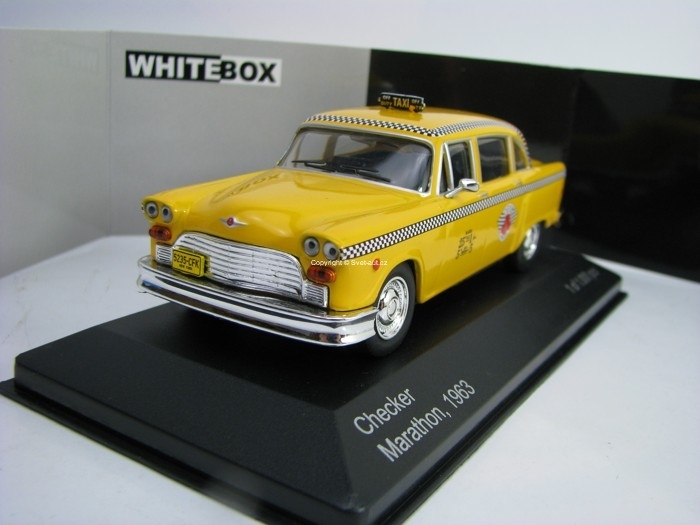 Checker Marathon 1963 New York Taxi 1:43 White Box WB194