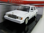 Dodge Aries K 1982 White 1:24 Motor Max