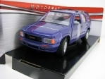 GMC Jimmy 1994 Purple 1:24 Motor Max