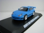 Brian's Porsche 911 Carrera GT3 RS 2001 Blue The Fast and the Furious 1:43 Greenlight