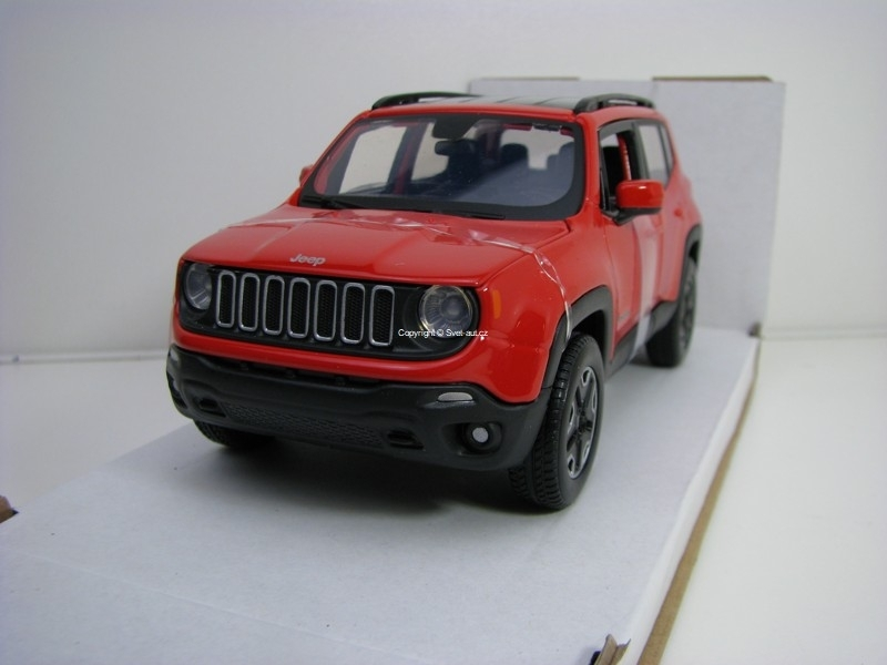 Jeep Renegade Red 1:24 Maisto