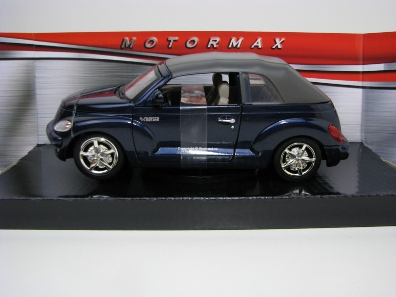 Chrysler PT Cruiser Convertible Styling Study Blue 1:24 Motor Ma