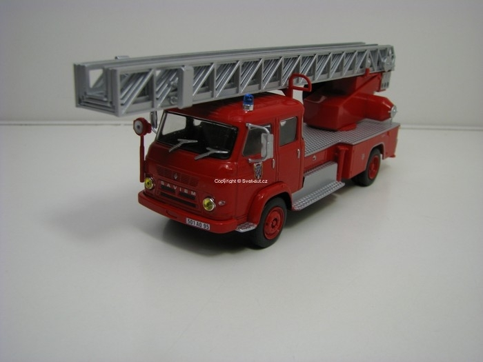 Renault Saviem S7 France Hasiči 1:43 Atlas Edition