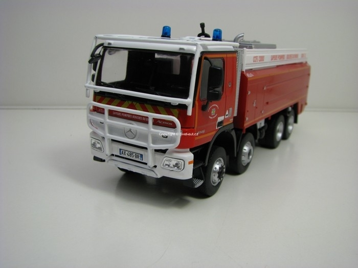Mercedes-Benz Actros 4146 8x4 SDIS des Bouches Germany Hasiči 1:43 Atlas Edition