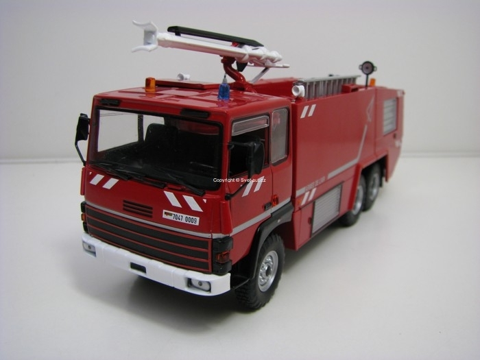 Thomas Vigp 440E 6x6 France Hasiči 1:43 Atlas Edition