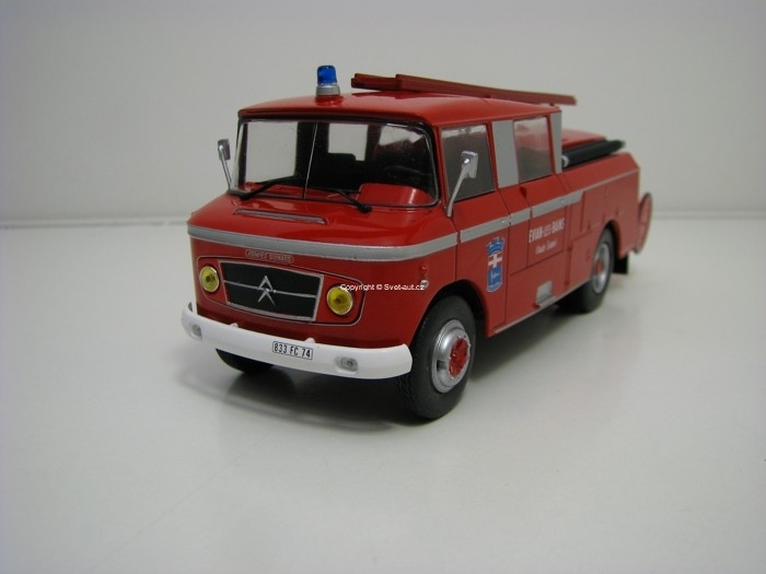 Citroen 46 CD Drouville France Hasiči 1:43 Atlas Edition