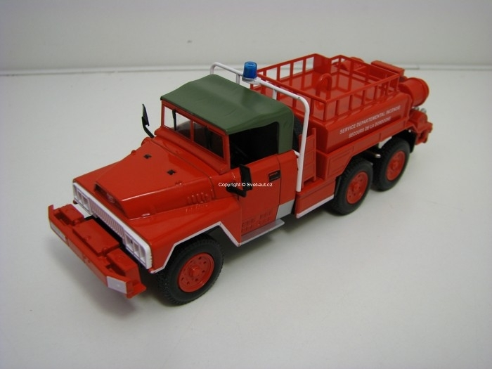 Acmat TPK 6x6 France Hasiči 1:43 Atlas Edition