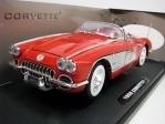 Chevrolet Corvette 1958 Red 1:18 Motor Max