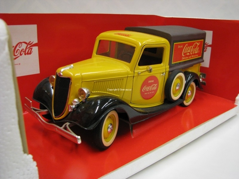 Ford Publicitaire Pick Up Coca Cola 1:18 Solido France
