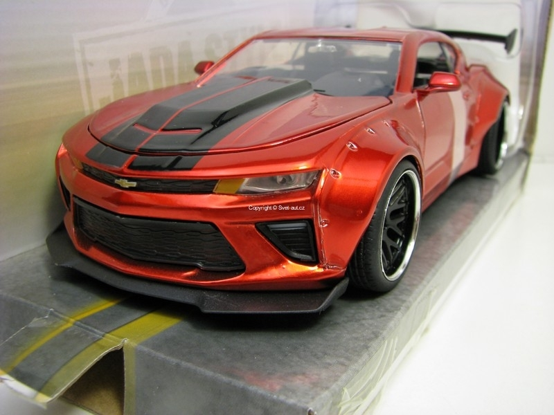 Chevrolet Camaro SS 2016 Red 1:24 Wide Body Jada Toys