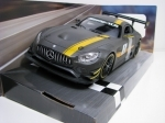 Mercedes-Benz AMG GT3 No.1 Matto Grey 1:24 Motor Max