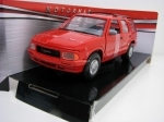 GMC Jimmy 1994 Red 1:24 Motor Max