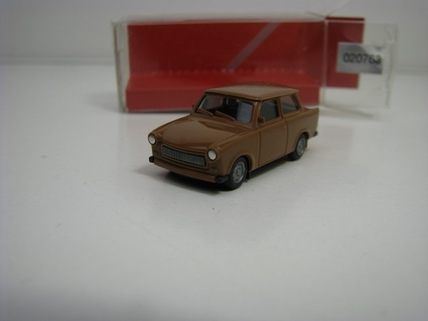 Trabant 601 Limousine Brown 1:87 Herpa