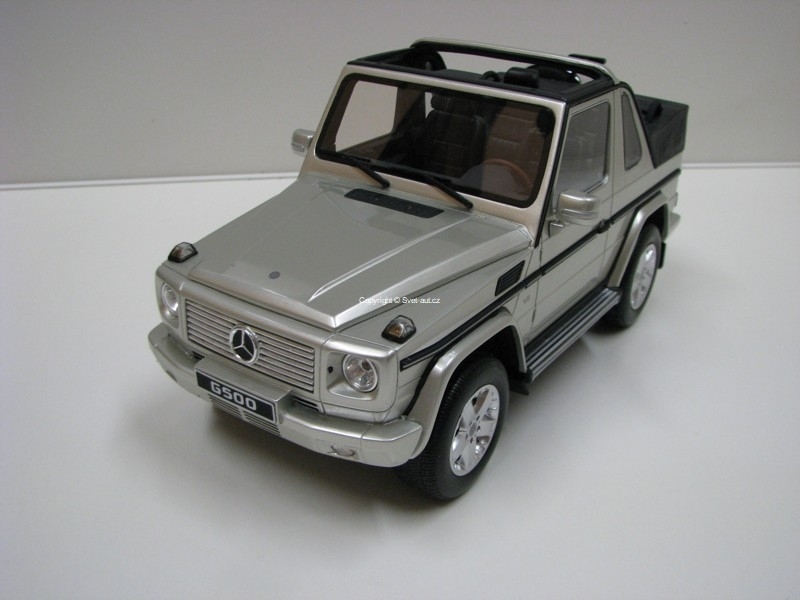 Mercedes-Benz G Class Cabrio 1:18 Ottomobile