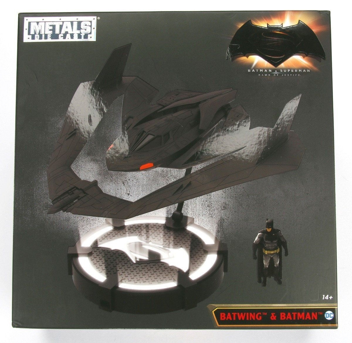 Batwing & Batman Batman v Superman Metal die Cast Jada Toys