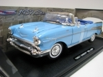Chevrolet Bel Air Cabrio Blue 1957 Timeless Clasics 1:18 Motor Max
