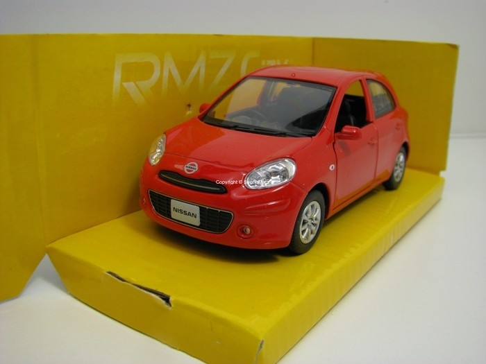 Nissan Micra Red RMZ City Collection