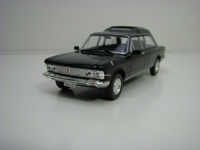 Fiat 130 Papamobil Black 1:43 Atlas Edition