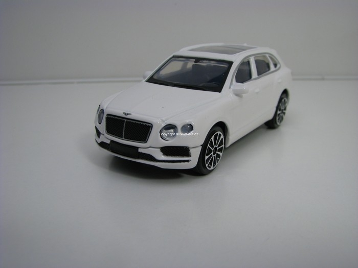 Bentley Bentayga White 1:43 Bburago