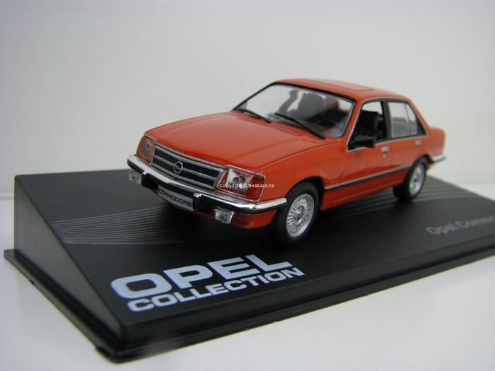 Opel Commodore C 1978-1982 Brown 1:43 Altaya
