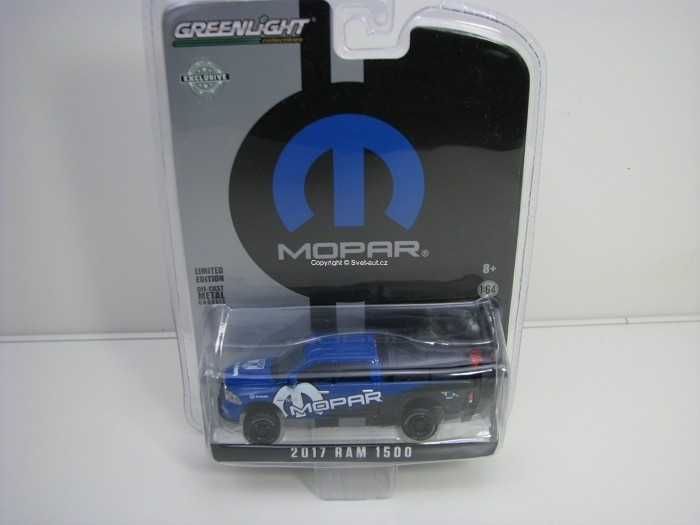 Dodge Ram 1500 Mopar 2017 Hobby Exlusive 1:64 Greenlight 29887