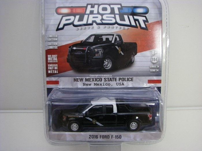 Ford F-150 2016 New Mexico 1:64 Hot Pursuit série 24 Greenlight