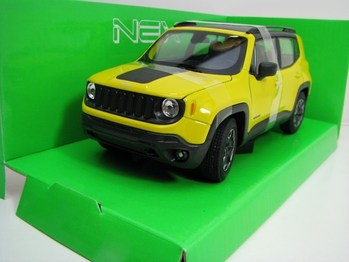 Jeep Renegade Trailhawk Yellow 1:24-27 Welly