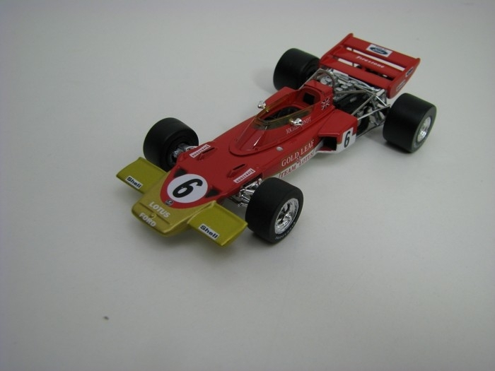 Lotus type 72C No.6 Jochen Rindt 1970 Winner French GP 1:43 Quartzo