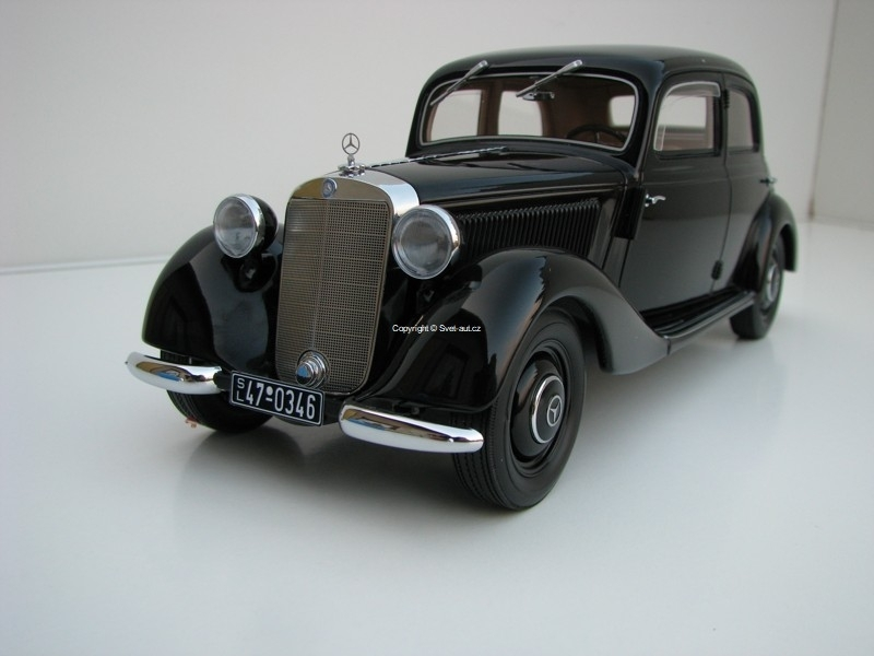 Mercedes-Benz 170V 1939 Black 1:18 BoS-Models