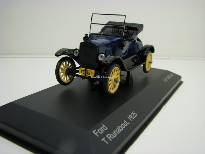 Ford T Runabout 1925 1:43 White Box