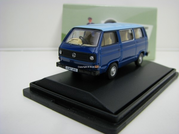 Volkswagen T25 Van blue 1:76 Oxford