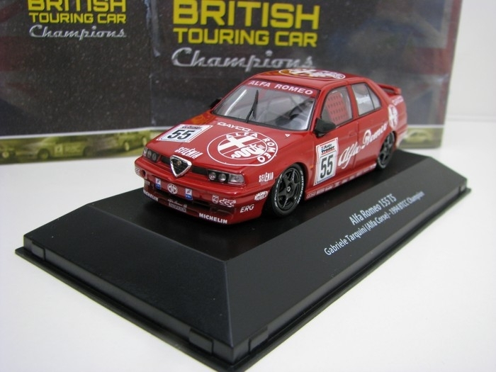 Alfa Romeo 155 TS No.55 1994 BTCC Champion 1:43 Atlas