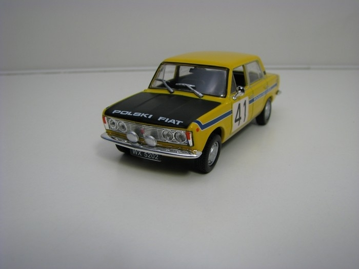 Fiat 125P No.41 1:43 Atlas Edition