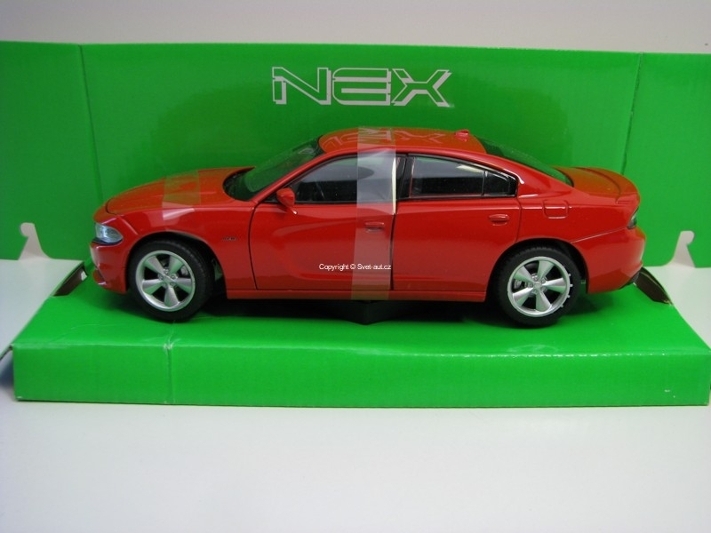 Dodge Charger R/T 2016 Red 1:24 Welly