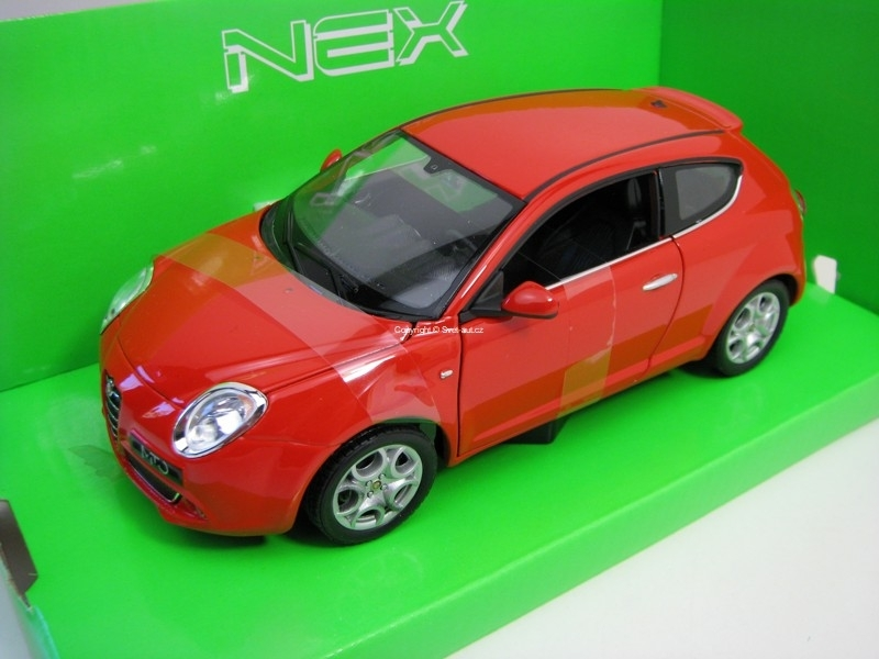 Alfa Romeo Mito Red 1:24 Welly