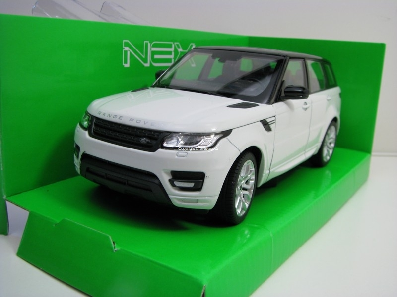 Range Rover Sport White 1:24 Welly