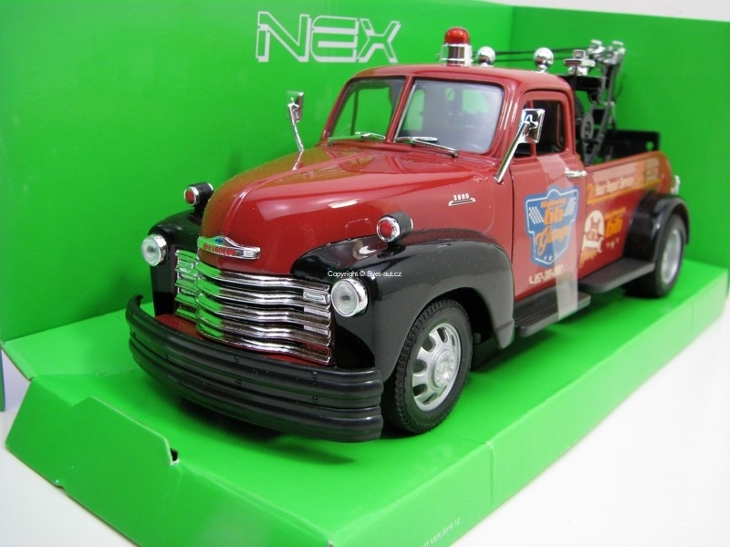 Chevrolet Tow Truck 1953 Highway 66 Garage 1:24 Welly