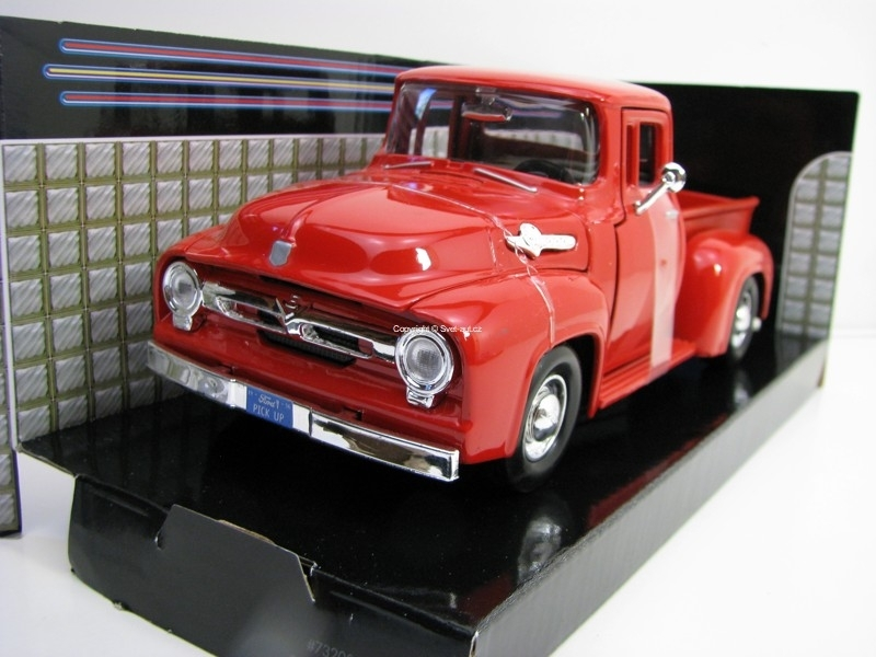 Ford F-100 Pick Up 1956 Red 1:24 Motor Max