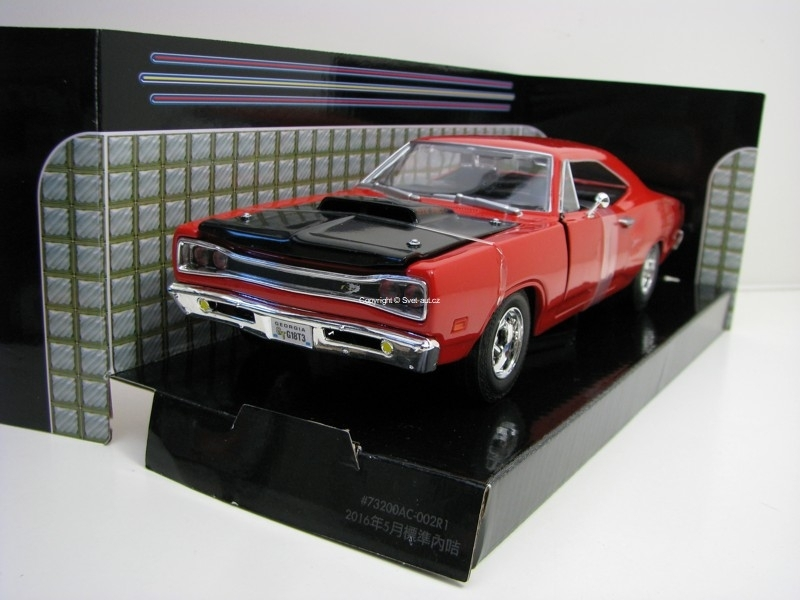 Dodge Coronet 1969 Super Bee Red 1:24 Motor Max