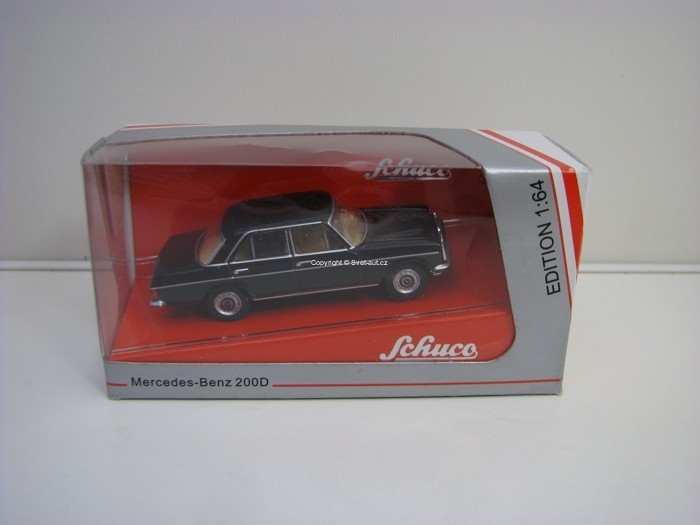 Mercedes-Benz 200D Black 1:64 Schuco