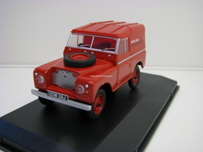 Land Rover Series IIA Royal Mail 1:43 Oxford