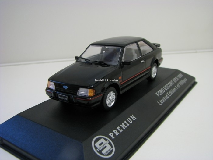 Ford Escort XR3i 1990 Black 1:43 Triple 9 Collection