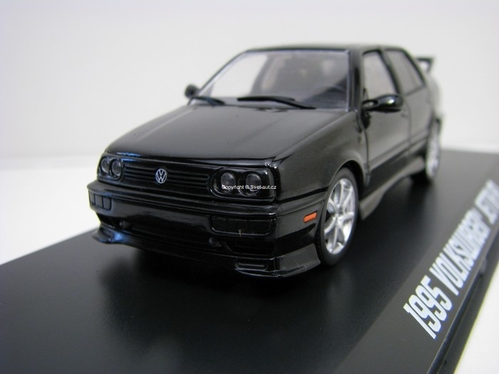 Volkswagen Jetta A3 1995 Black 1:43 Greenlight
