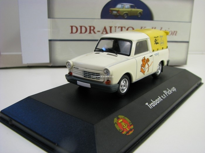 Trabant 1.1 Pick Up 1:43 Atlas Edition DDR-Auto