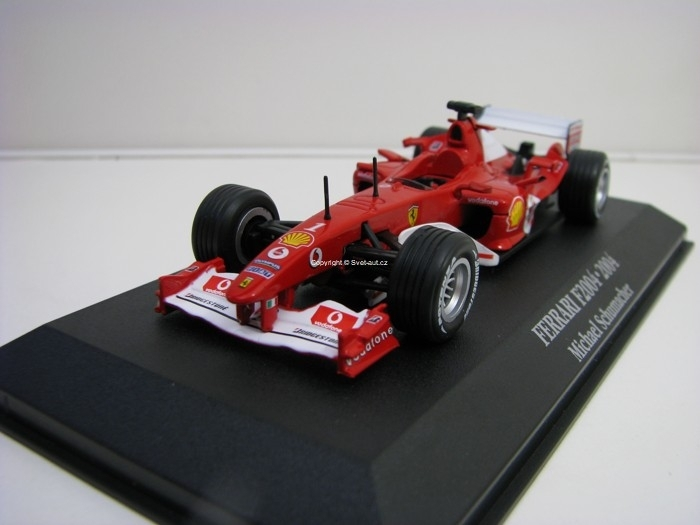 Ferrari F2004 No.1 Michael Schumacher 1:43 Atlas Edition