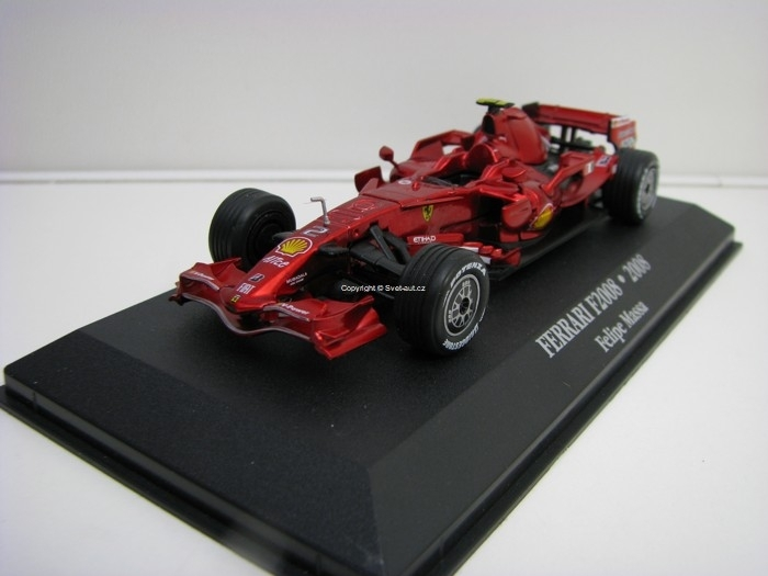 Ferrari F2008 No.2 Felipe Massa 1:43 Atlas Edition