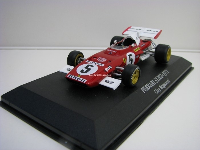 Ferrari 312B2 Clay Regazzoni 1971 1:43 Atlas Edition